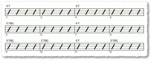 Groove from Jazz Chord Exercise