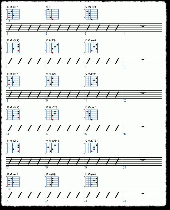 Groove from Jazzing Minor Pentatonics - Page 5