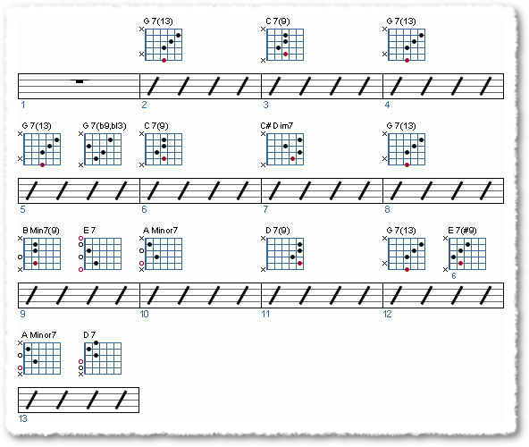 Groove from Soloing Over A Jazz Blues - Page 11
