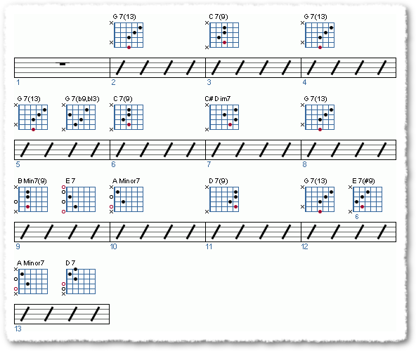 Groove from Soloing Over A Jazz Blues - Page 4