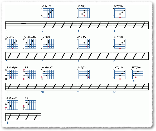 Groove from Soloing Over A Jazz Blues - Page 6
