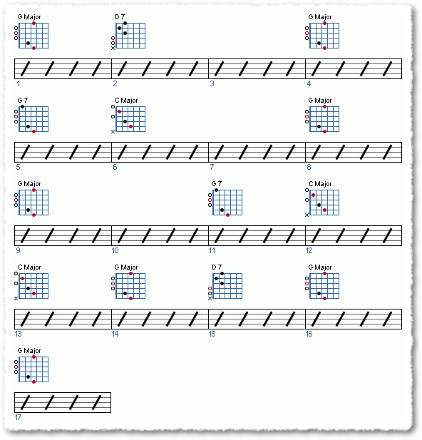 Groove from Playing The Pilgrim Song - Page 5