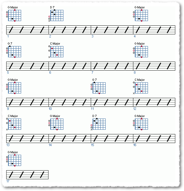 Groove from Playing The Pilgrim Song - Page 6
