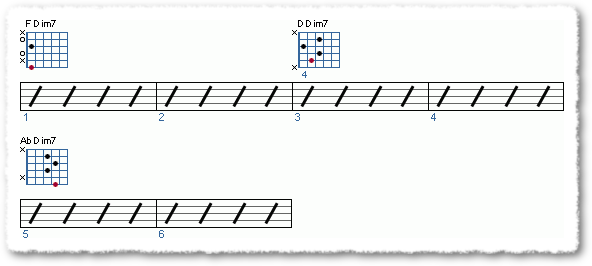 Groove from A Substitute For The Diminished Scale - Page 3