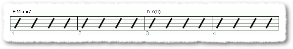 Groove from Funk Comping Patterns in E - Page 3