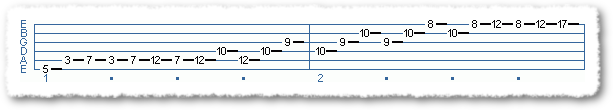 3 Octace Arpeggio - Sequence