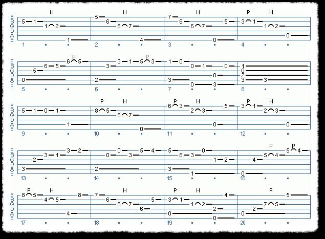 BWV 995-4 Sarabande