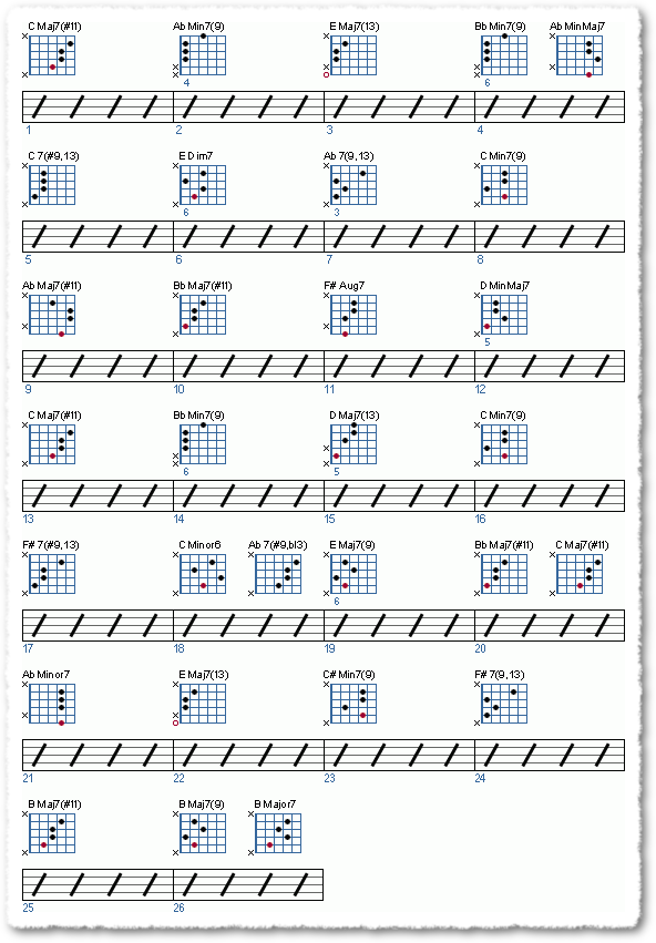 Building Chord Progressions - Page 10