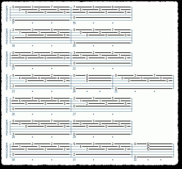 Tarrega - Study in E Minor - Page 2