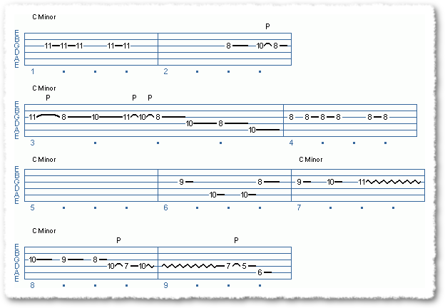 Scott Henderson Type Licks