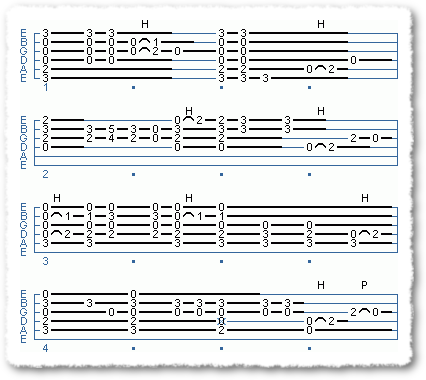 Rhythm With Fragmented Chords 2