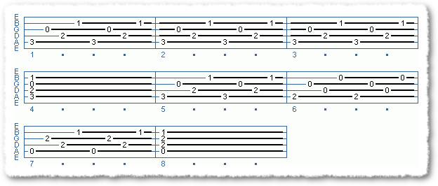 Basic Fingerpicking Patterns - Page 6