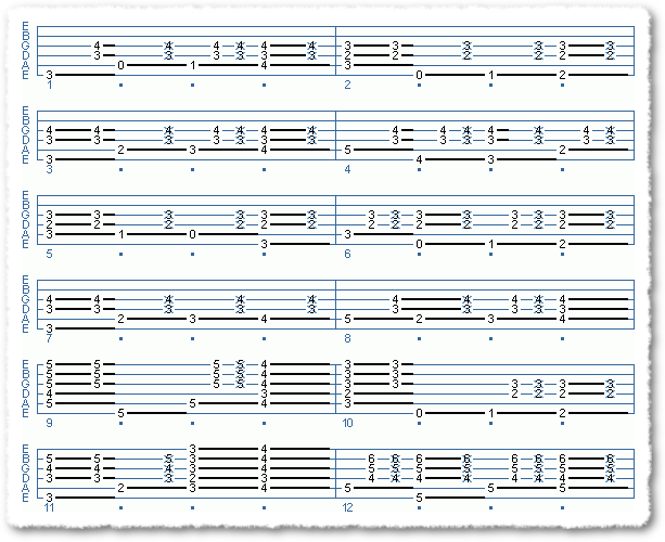 Walking Bass Lines with Chords - Page 6
