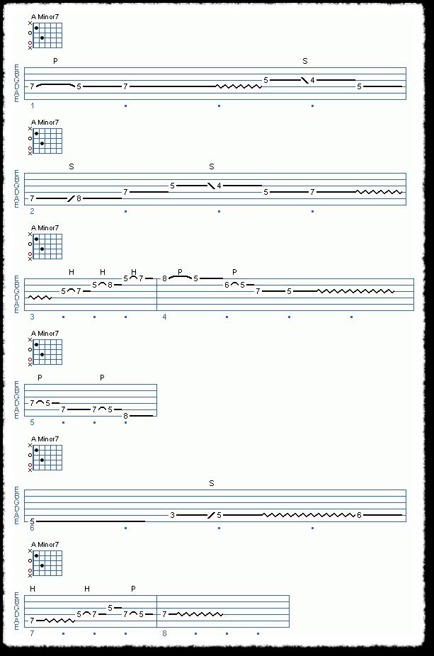 Chord Shape Improvisation, Part 1 - Page 4