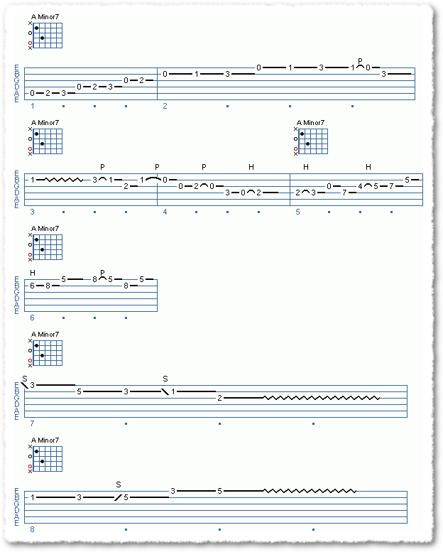Chord Shape Improvisation, Part 1 - Page 5