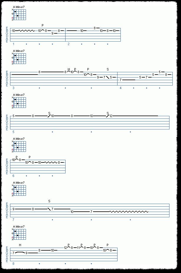 Chord Shape Improvisation, Part 1 - Page 6