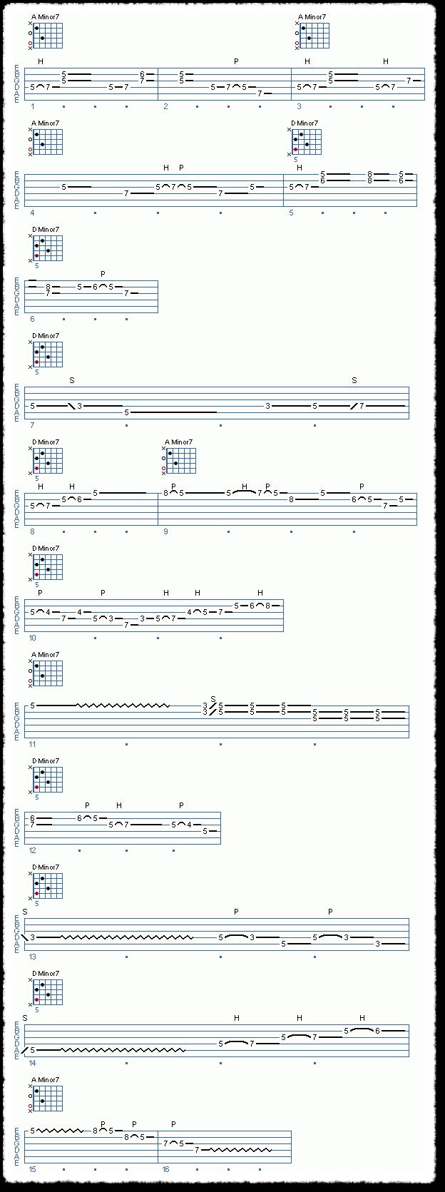 Chord Shape Improvisation, Part 1 - Page 9