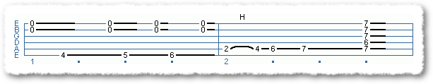 blues endings in E - Page 2
