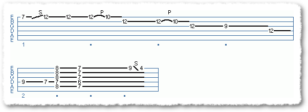 blues endings in E - Page 3