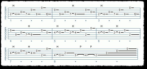 Em Open String Melody