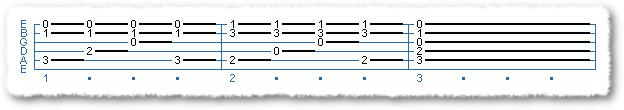 Classical Finger Picking Exercise #1