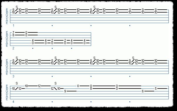 Clapton-style Acoustic Blues - Page 4