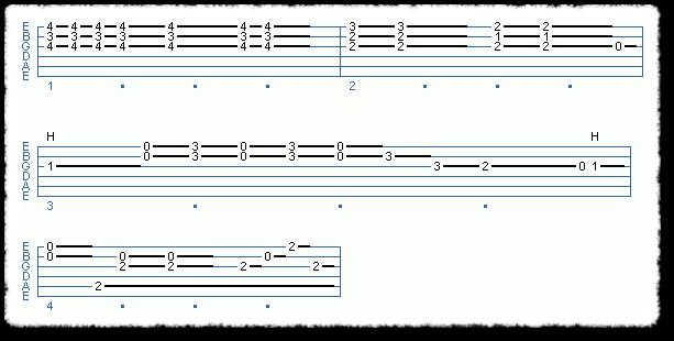 Clapton-style Acoustic Blues - Page 6