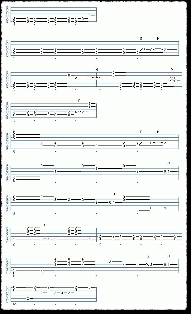 Clapton-style Acoustic Blues - Page 7