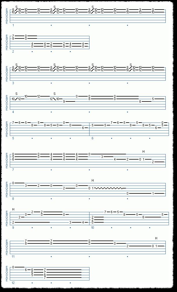 Clapton-style Acoustic Blues - Page 8