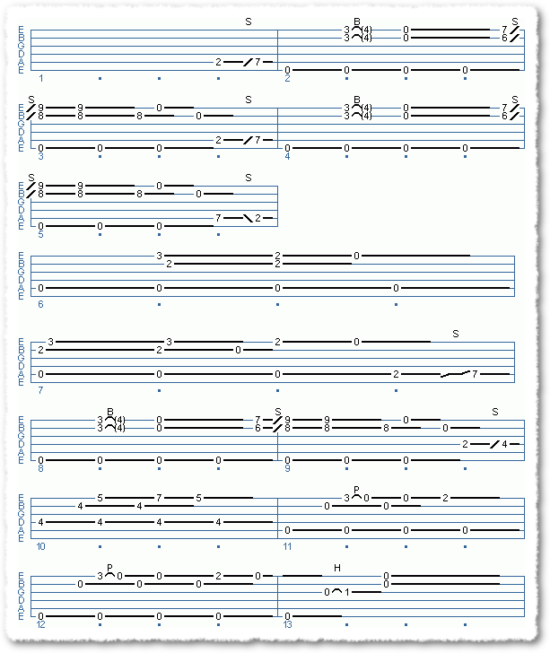 Clapton-style Acoustic Blues - Page 9