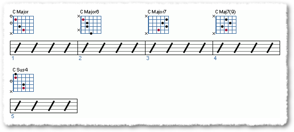 How do I make chord progressions Part 4