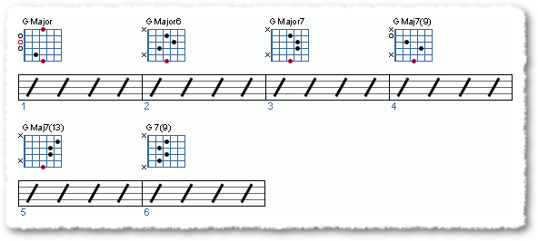 How do I make chord progressions Part 4 - Page 5