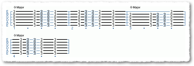Common Major Chord Variations - Page 3