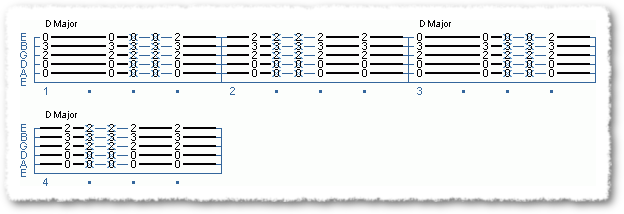 Common Major Chord Variations - Page 5