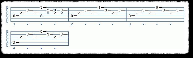 Chord Melody Riff