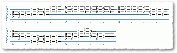 EXTENDED CHORD SCALE FORMS #2 IN TEMPO - Page 2