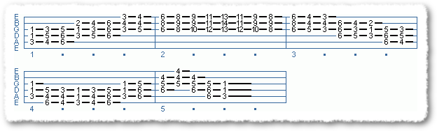 EXTENDED CHORD SCALE FORMS #2 IN TEMPO - Page 3