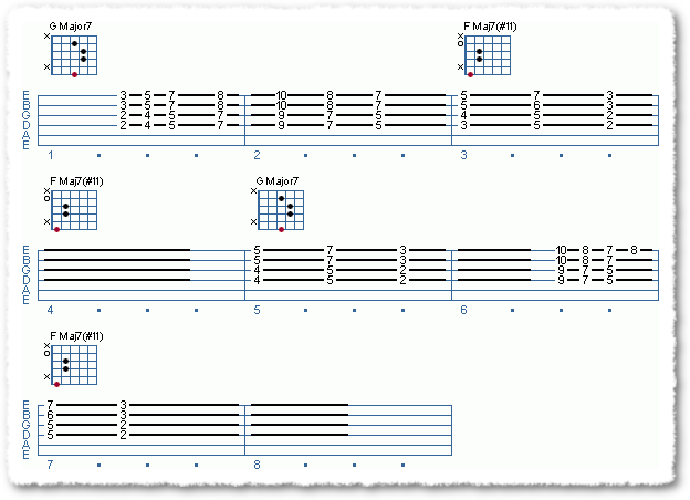 Chord Soloing Using 4ths - Page 5