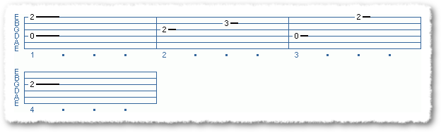Simple Two Finger Picking Pattern