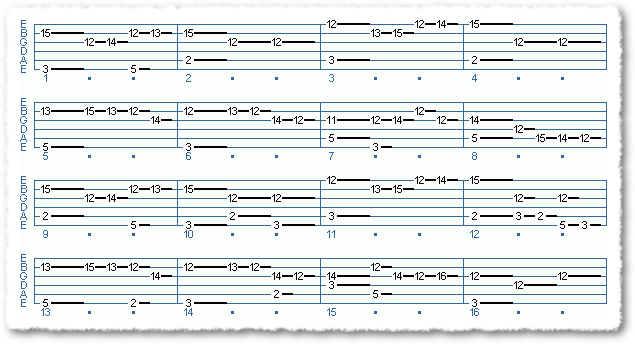 Minuet In G For Touch Style Guitar