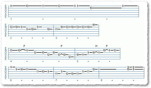 Main Sequence from Playing From Chord Shapes - Page 4