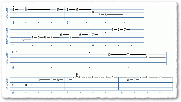 Main Sequence from Playing From Chord Shapes - Page 5
