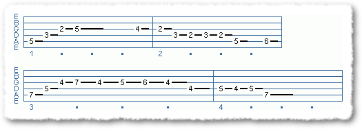 Main Sequence from Jazz Lines For Beginners - Page 7