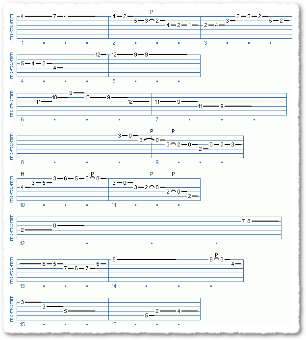 Main Sequence from Soloing Over Bossa Chords - Page 3