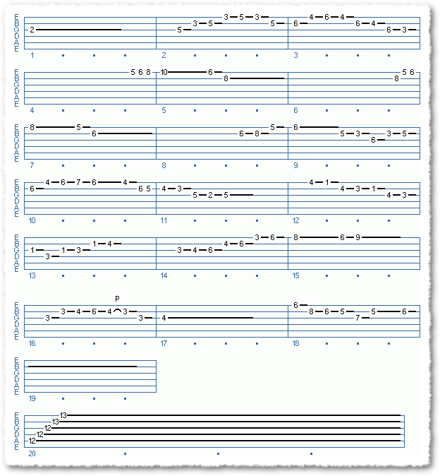 Main Sequence from Soloing Over Bossa Chords - Page 4