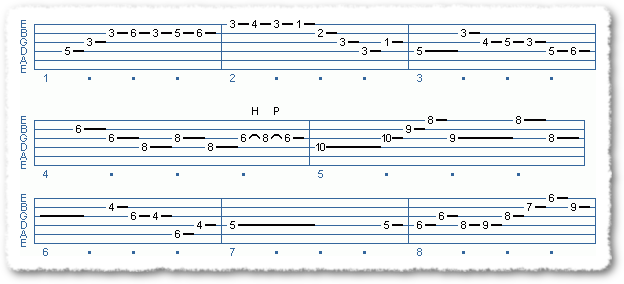Main Sequence from Handling A Tricky Solo - Page 3