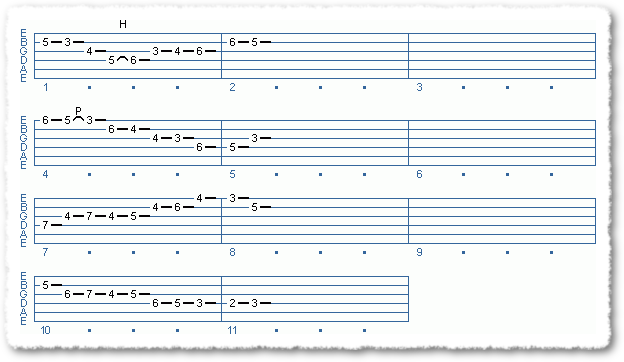 Main Sequence from Soloing Over A Jazz Blues - Page 9