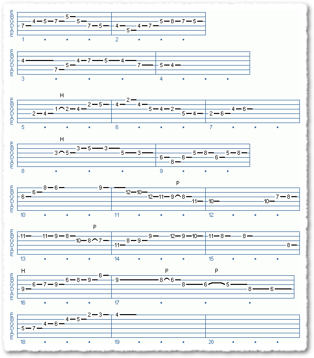 Main Sequence from All The Chords You Know - Page 5