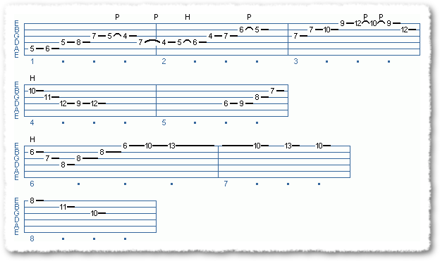Main Sequence from 'Professional' Jazz Lines - Page 2