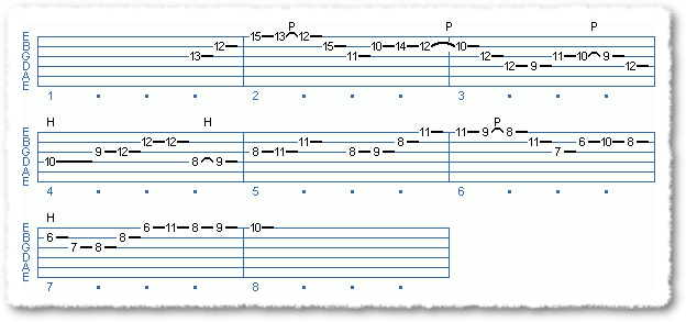 Main Sequence from 'Professional' Jazz Lines - Page 3